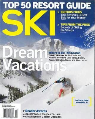 ski mag cover